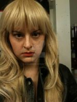 Parker from Leverage Makeup test by shelbeanie