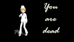 MMD You are dead by GisLenKagamine