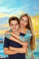 brother and sister by kirina66