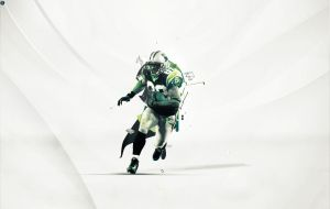 American Football Player //wallpaper//sC by epro-creative