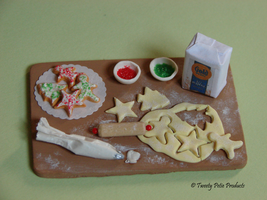 Christmas Cookie Prep Board by birdielover