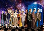 Sketchbook Project Heroes and Villains-Dr. Who by RebeccaLS