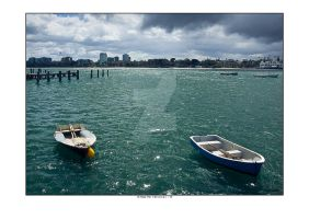 Boats at St Kilda Pier by addr010