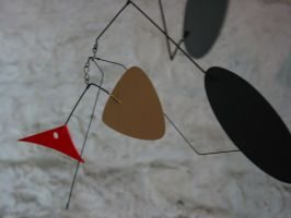 """""""Tweedy"""" hanging mobile by unigami"""