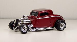 Matchbox 1933 Ford in Red by Firehawk73-2012