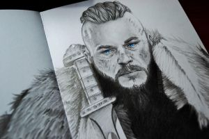 Ragnar Lothbrok - Detail by Alice-Delacroix