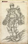 Edge of Tomorrow Linearts by RobDuenas