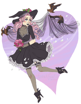 Witchsona week 2015! by hannahbird