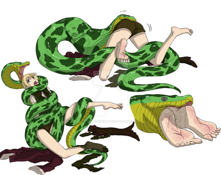 Alois Trancy Vore: The Snake and the Spider 2 by Tightenheart
