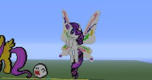Flying rarity pixel art by Phot0pon3