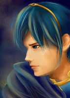 Realistic Marth by Zinchleaf