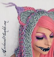 Pastel Cheshire Detail by Archaical