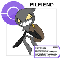 pilfiend old by Cerulebell