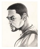 Will Smith in I Robot by Mike6otto