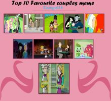 My Top 10 Favorite Cartoon Couples by Toongirl18