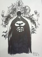 The Dark Knight by supermariotto
