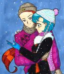 It's snowing! by IlariaSometimes