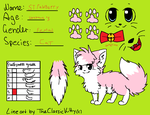 ref sheet by snowtheacat