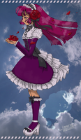 Gothic Lolita Line Art - Colored by alisasaurus