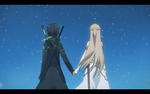 Sword Art Online end scene by jumarco11