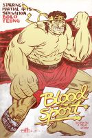 Blood Sport Bolo by Andrew-Ross-MacLean