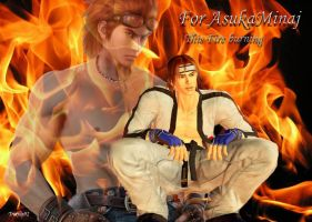 Hwoarang (This Fire burning) by Trix92