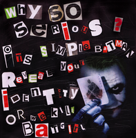 Why So Serious? Jokers Ransom by MD3-Designs