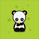 Panda Star by elicoronel16