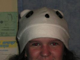 Polar bear hat possible new ID by Manicies