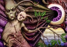 Weird Nature OEC Collab by savageworlds