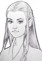 Tauriel by Mrowr
