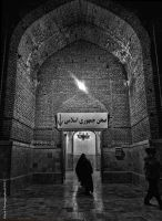 Gate of Paradise in B/W by Faiza-photography