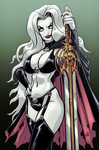 Lady Death - Commission by EryckWebbGraphics
