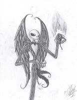 Jack Skellington by Arkillias