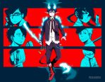 Ao no Exorcist - Blue [Fanart] by Nesallienna
