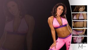Mickie James - WWE Wallpaper by 0PT1C5