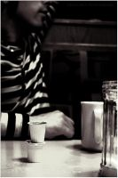 2 cups and a conversation. by thephotogenesis
