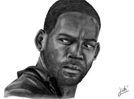 Will Smith , I Am Legend by hohenheim54