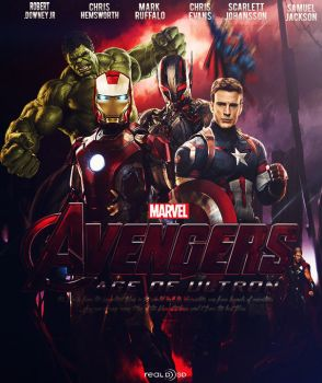 Poster For The Avangers by Mohamed-GFX2