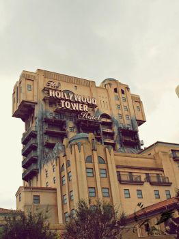 The Hollywood Tower Hotel - Tower of Terror by MotherBlessing