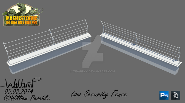 PK Low Security Fence by Tea-rexx