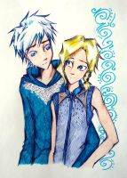 DON'T let it go(yaoi!Jelsa) by UkeHicForEva