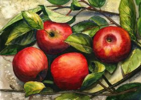 Apples by JoaRosa