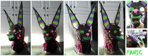 Panic Mask by CuriousCreatures