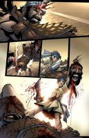 David y Goliath page 13 Color by Sandoval-Art