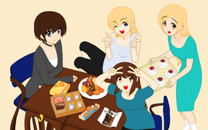K-ON!! Stlye OC Group by heophtia