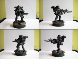 Black Water Company, Special Mission Unit, Veteran by Hellwolve