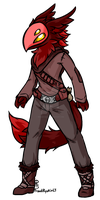 Kurion Adventurer - Red by ProudRyukin13