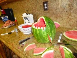 Watermellon shark, aftermath by SmazzyNinja
