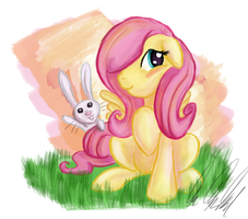 Best Pony: Fluttershy by Rariedash